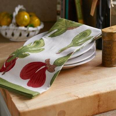 Fig Red Green Tea Towel