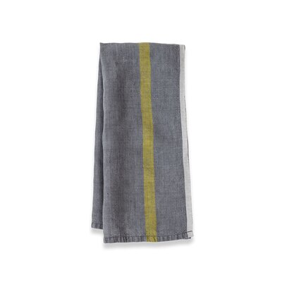 Laundered Linen Stripe Tea Towel
