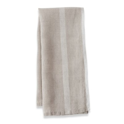 Couleur Nature Laundered Linen Stripe Tea Towel (Set of 2) - Color: Natural/White at Sears.com