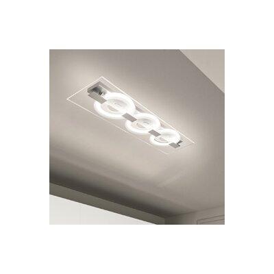 Image of 0-Sound 3 Light Flush Ceiling Light