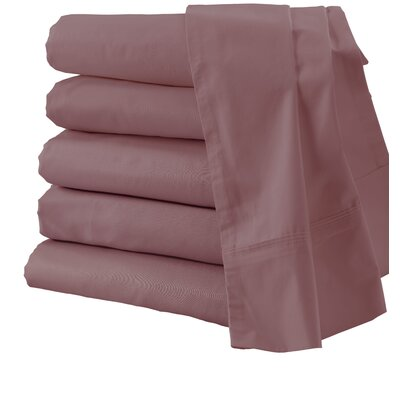 300 Thread Count Sheet Set Size: King, Color: Rose