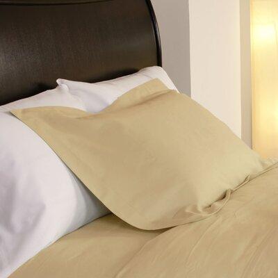 Temperature Regulating Pillowcases Size: Standard, Color: Cornsilk