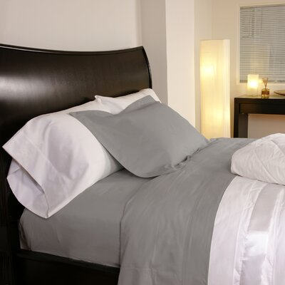 Temperature Regulating 300 Thread Count Sheet Set Size: Twin XL, Color: Stone