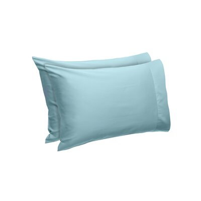 Temperature Regulating Pillowcases Size: Standard, Color: Lake Blue