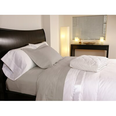 Temperature Regulating 300 Thread Count Sheet Set Size: Twin, Color: Linen