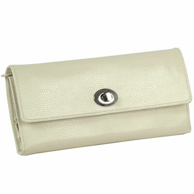 Wolf Designs London Jewel Roll - Color: Cream