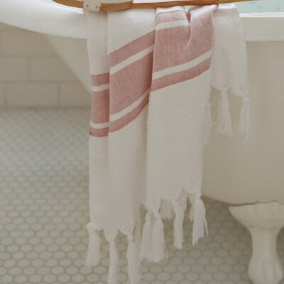 Soft Terry Bath Towel Color: Red