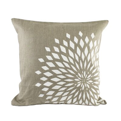 Zinnia Pillow Cover Color: Natural