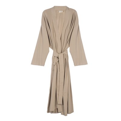 Organic Jersey Bathrobe Color: Sand