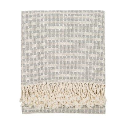 Elli Throw Blanket Color: Dark Gray