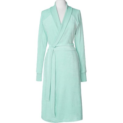 Premium Organic Cotton Velour Bathrobe Size: Large