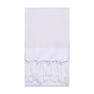 Lapiz Turkish Hand Towel Color: Cream