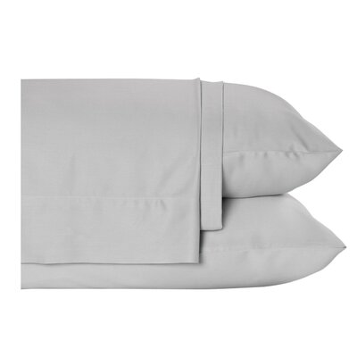 4 Piece Sheet Set Size: King, Color: Grey