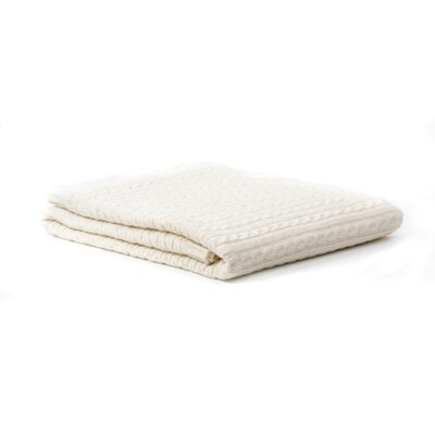 Wool Blanket Color: Ivory