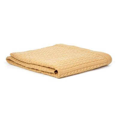 Wool Blanket Color: Gold
