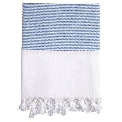 Lapiz Fouta Bath Towel Color: Navy