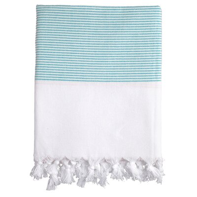Lapiz Fouta Bath Towel Color: Turquoise