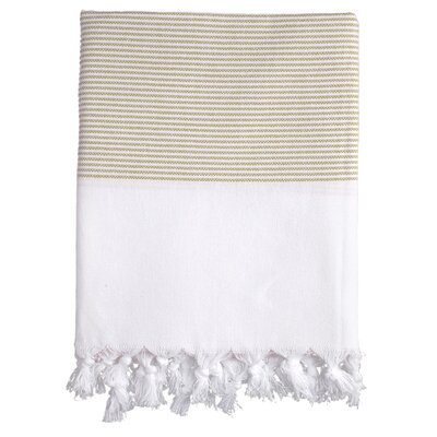 Lapiz Fouta Bath Towel Color: Cream