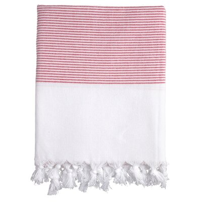 Lapiz Fouta Bath Towel Color: Red