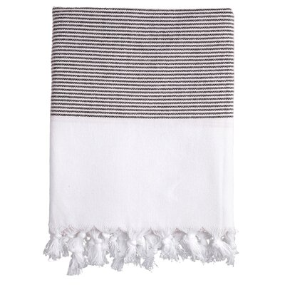 Lapiz Fouta Bath Towel Color: Black