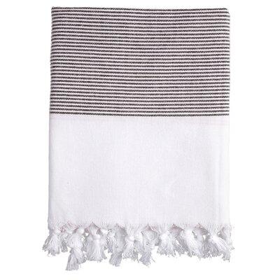 Lapiz Fouta Bath Towel Color: Black