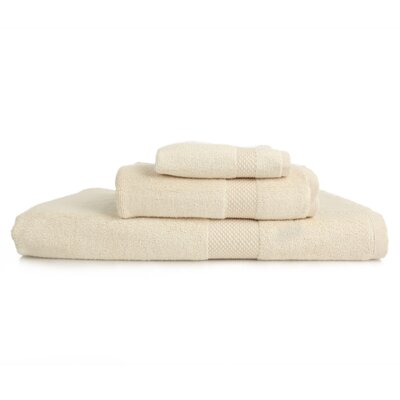 Resort 3 Piece Towel Set Color: Ivory