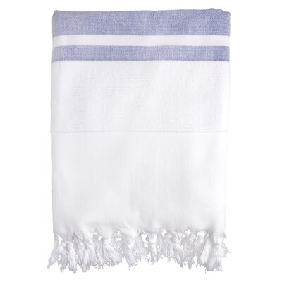 Fouta Soft Terry Bath Towel Color: Blue