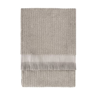 Ribbed Bath Sheet Color: Oatmeal