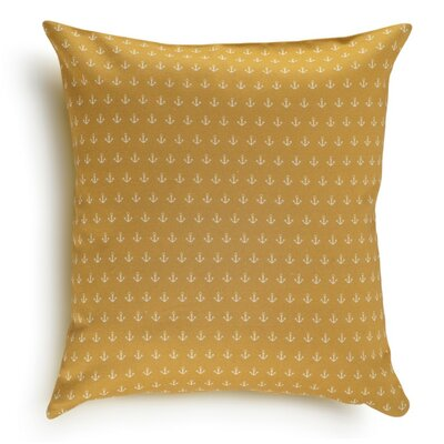 Anchor Cotton Pillow Cover Color: Sunburst