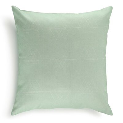 Perissa Cotton Pillow Cover Color: Powder Blue