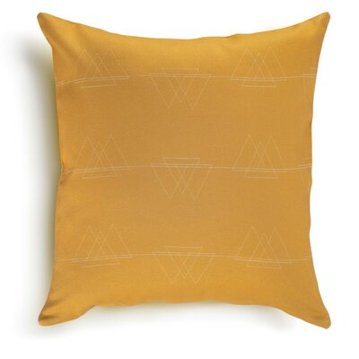 Perissa Cotton Pillow Cover Color: Sunburst