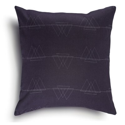Perissa Cotton Pillow Cover Color: Navy