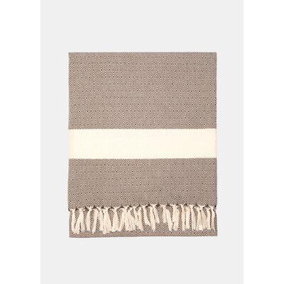 Diamond Throw Blanket Color: Barley