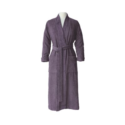 Pleated Bathrobe Size: Small / Medium, Color: Lavender
