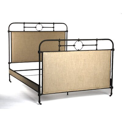 Upholstered Panel Bed Size: Queen