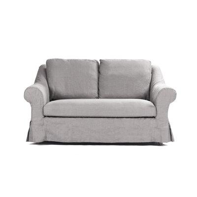 Albine Loveseat Upholstery: Grey