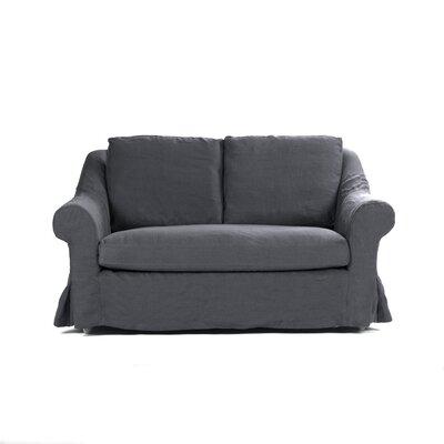 Albine Loveseat Upholstery: Navy Blue