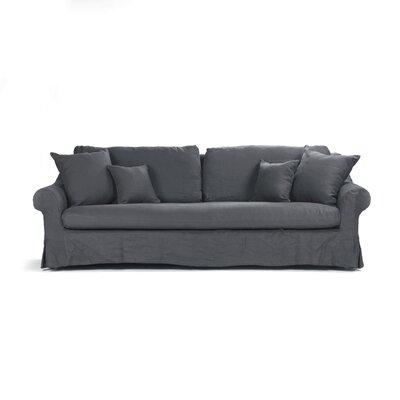 Albine Sofa Upholstery: Navy Blue