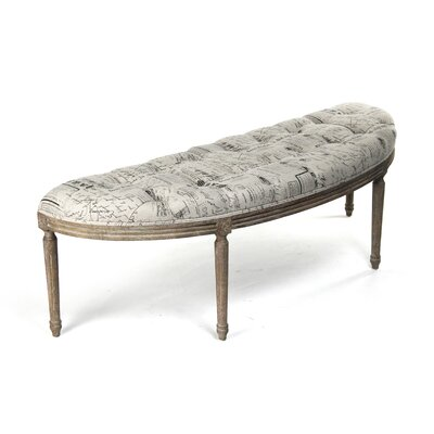 Louie Upholstered Bench CFH208 E272 A003 Pattern #41