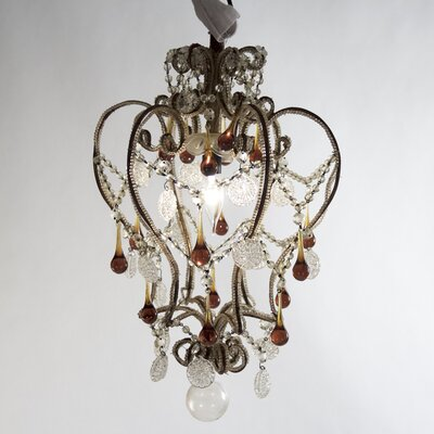 Duffey 1-Light Crystal Pendant