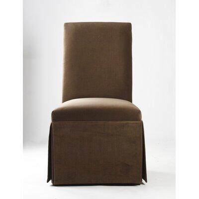 Tuxedo Parsons Chair Upholstery: Latte Gibson