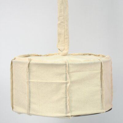 Drum Pendant Shade Color: Linen