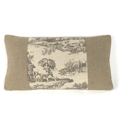 French Inspired Toile Pillow
