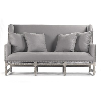 Aubert Sofa Upholstery: Gray