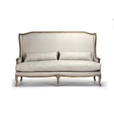 Leon Sofa Color: White
