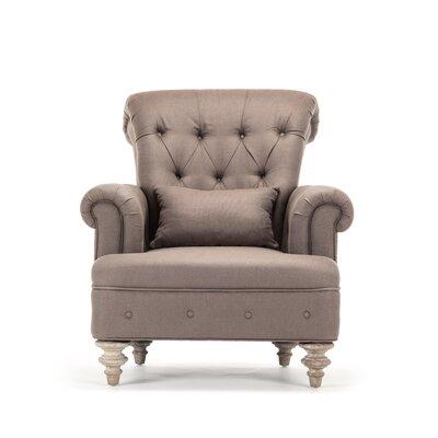 Yves Tufted Club Chair