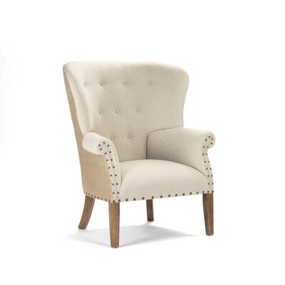 Tufted Wing Armchair