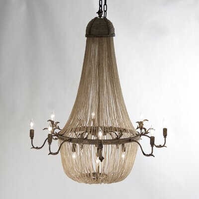 Afra 12-Light Empire Chandelier