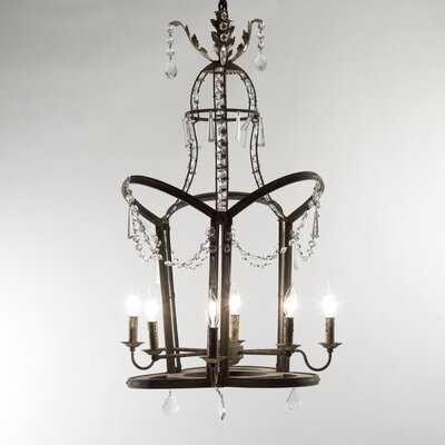 Garland 6-Light Candle-Style Chandelier