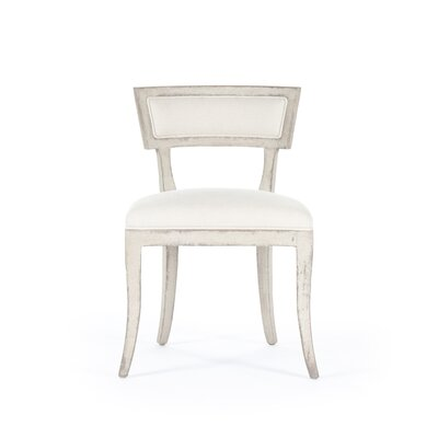 Ayer Side Chair Color: White